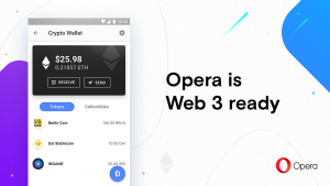 Opera for Android is now the world's first mobile browser with built-in crypto wallet