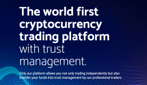 Bitleex – world's first crypto trading platform with trust management