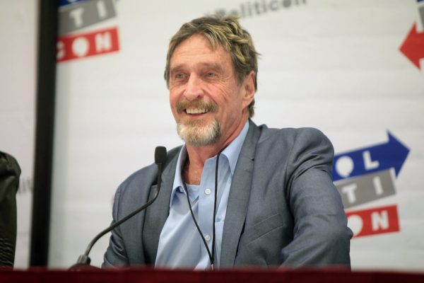 Even John McAfee has his own crypto: 'Freedom Coin' to see launch in the fall