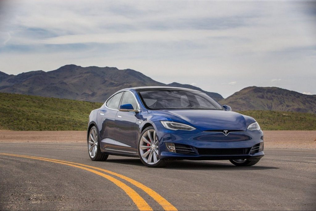 Tesla Model S 'Palladium' Refresh Spotted At Fremont Test Track