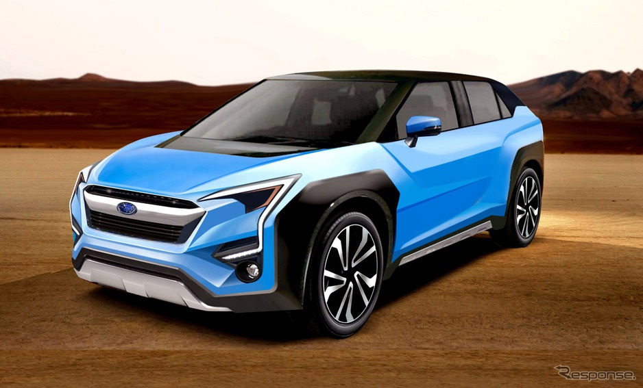 evoltis rumored to be subaru u0026 39 s first ev crossover to debut in 2021