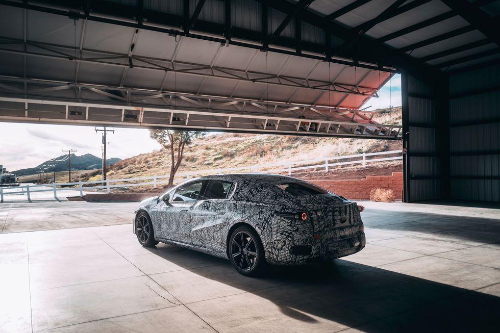 Mercedes SQS Teaser