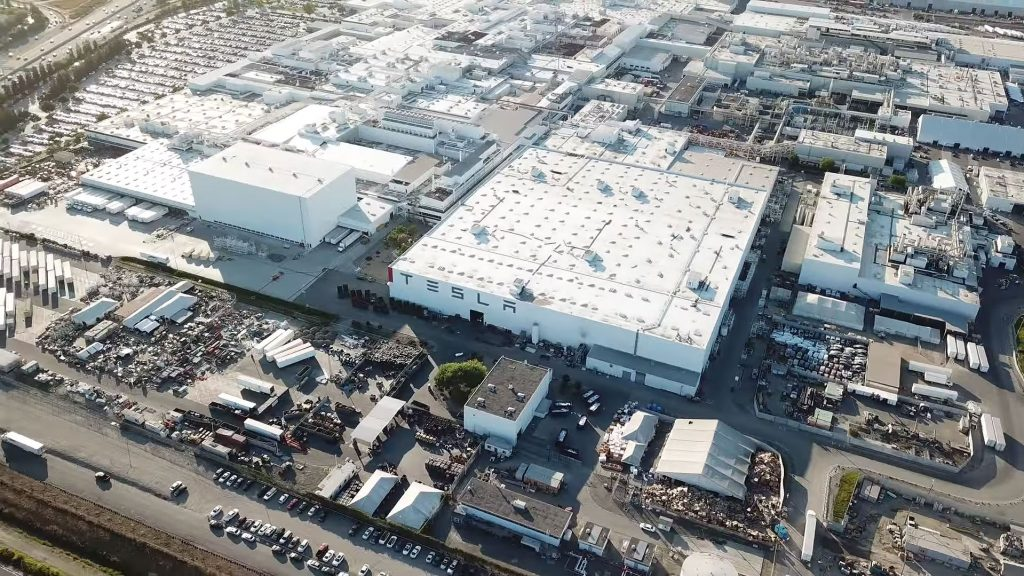 Tesla Begins Normal Operations at California's Alameda County Plant and Nevada