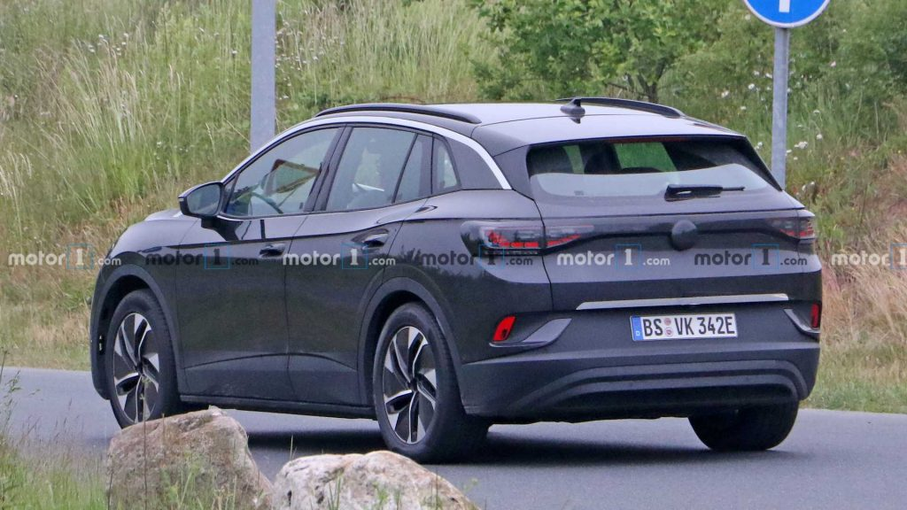 VW ID.4 Spy - Back