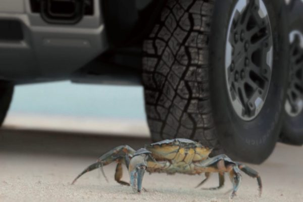 GMC Hummer Crab Mode
