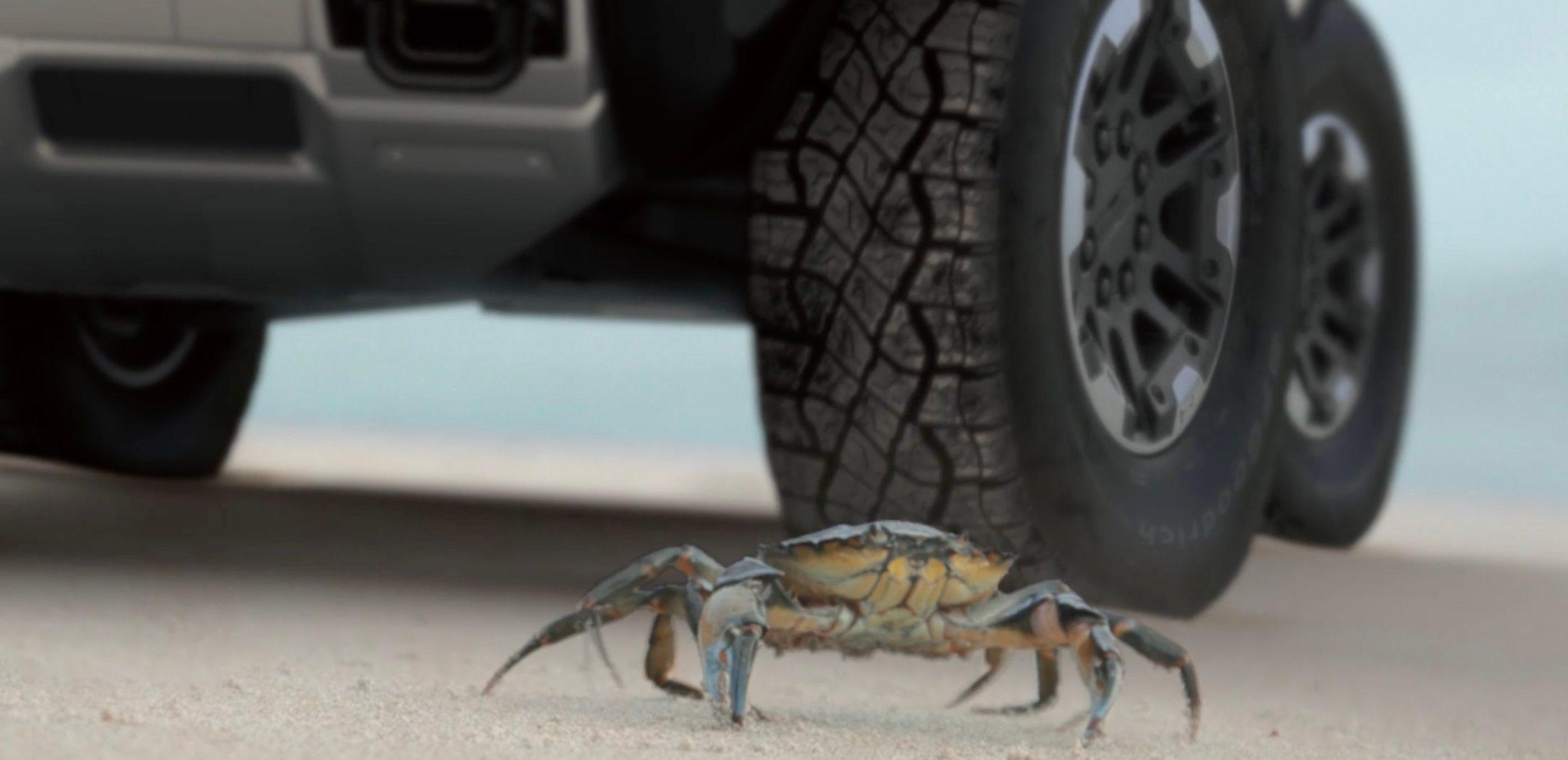 GMC Hummer Crab Mode