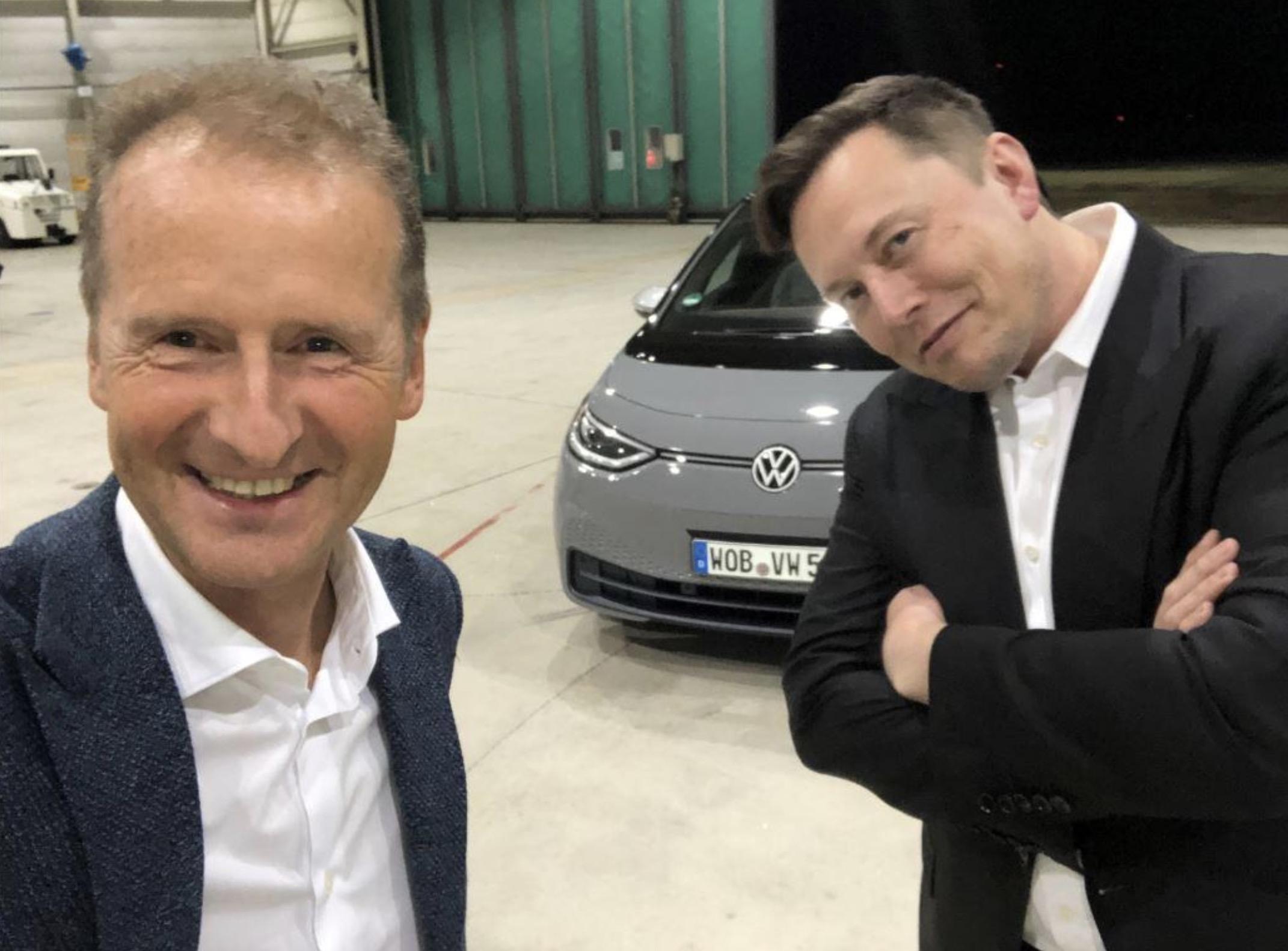 Elon Musk - Herbert Diess