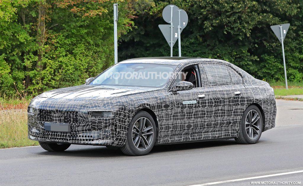 BMW i7 Spy