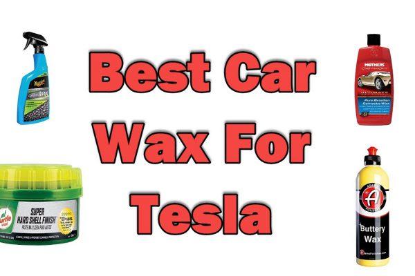 Best Car Wax For Tesla
