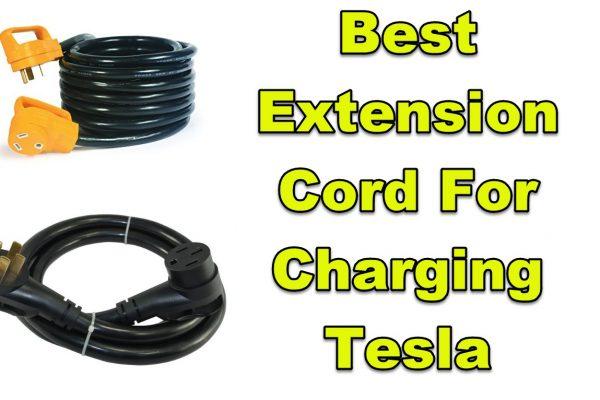 tesla extension cord