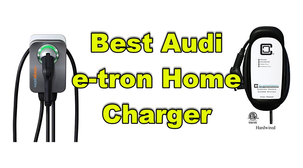 best audi e-tron home charger