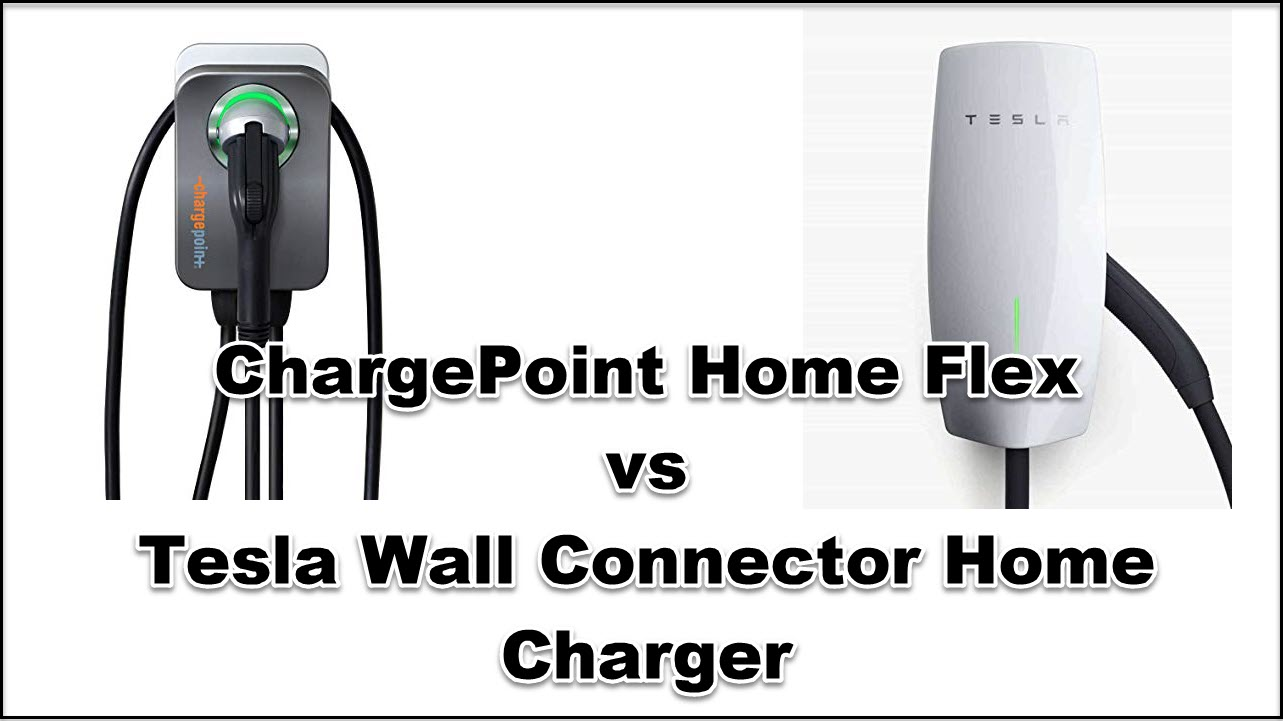chargepoint vs tesla charger