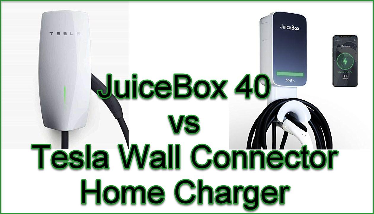 juicebox vs tesla charger