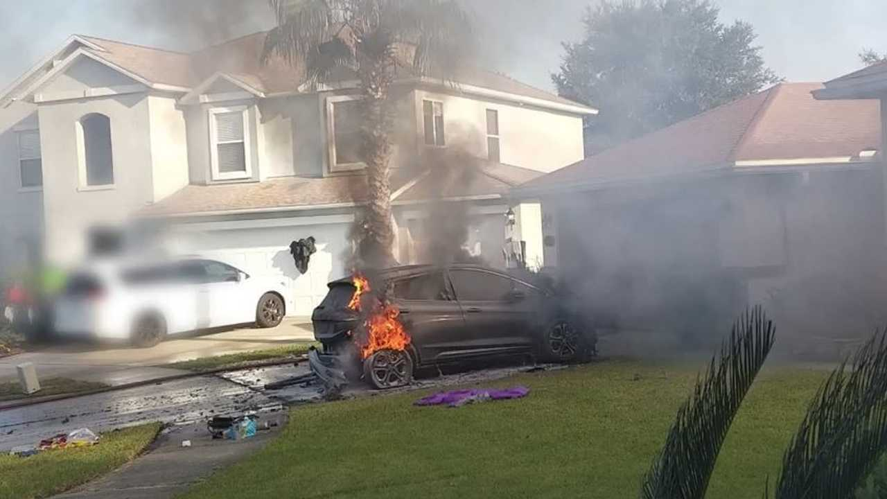Bolt EV Fire