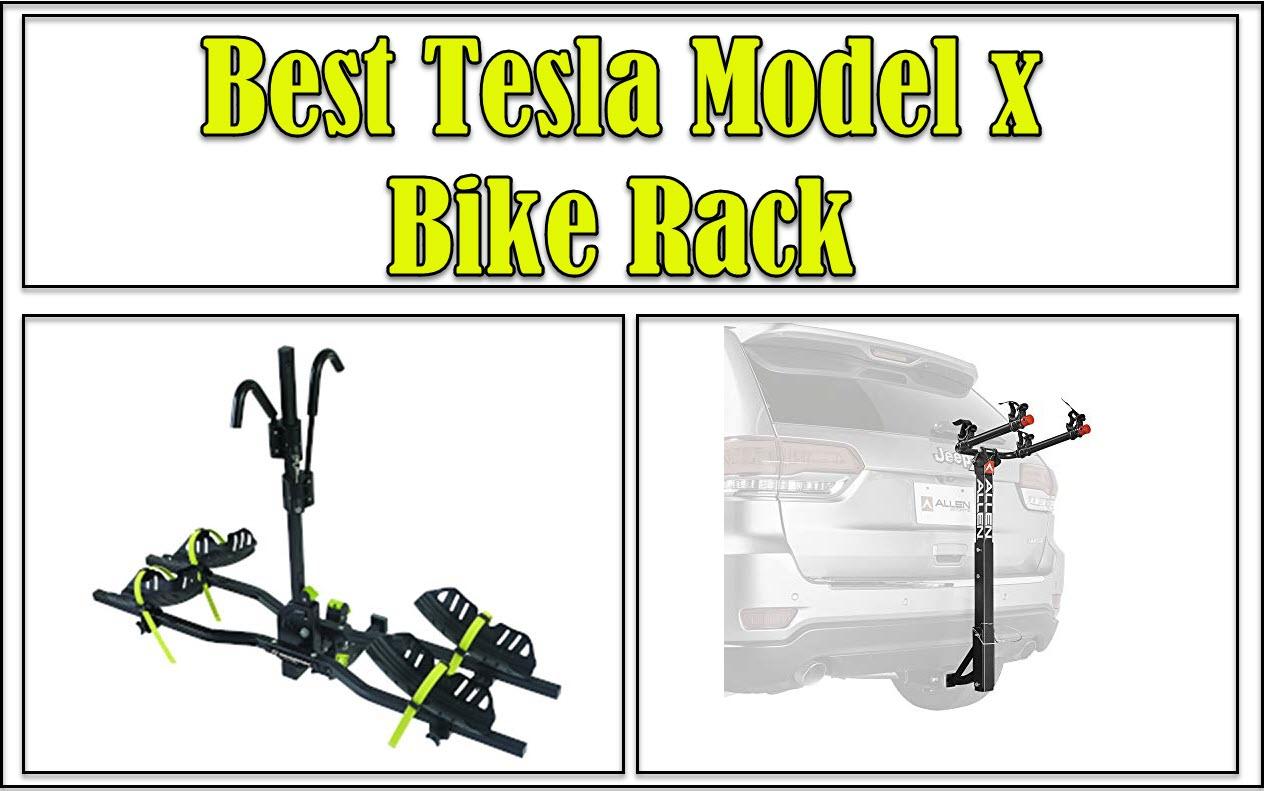 Tesla Model x Bike Rack