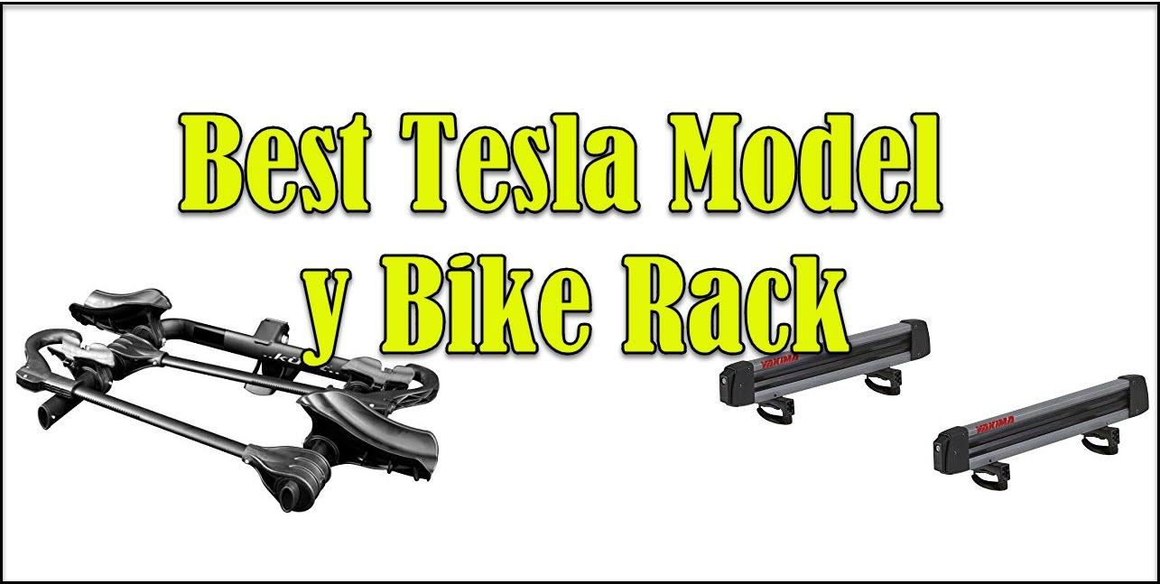 tesla model y bike rack