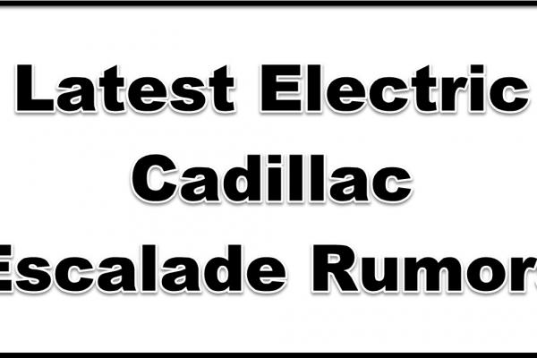 electric cadillac escalade