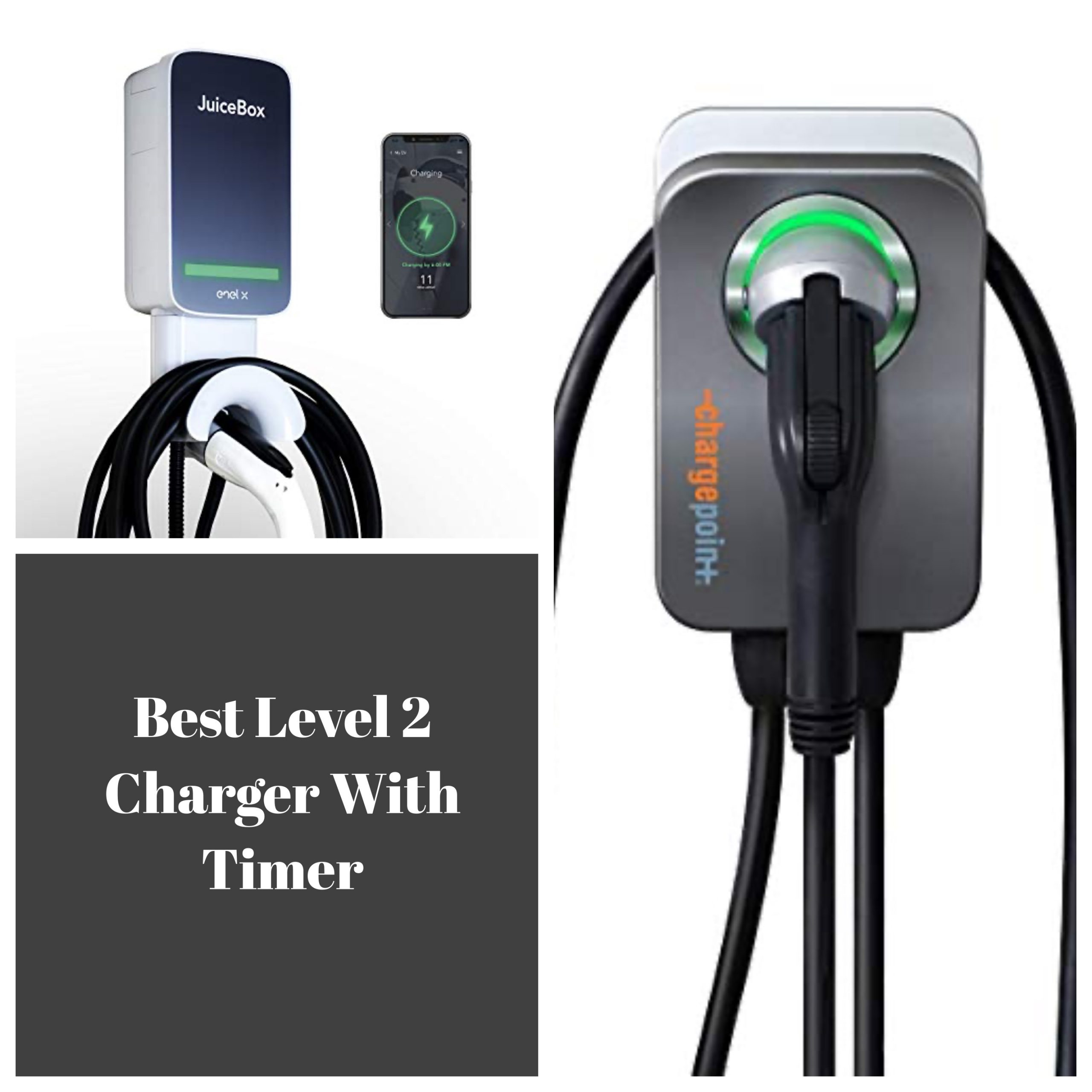 Level 2 Charger With Timer