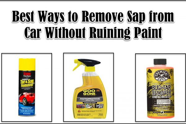 how to remove sap from car