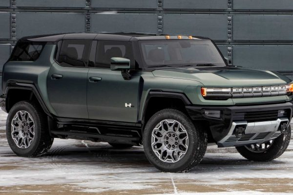 Electric Hummer SUV